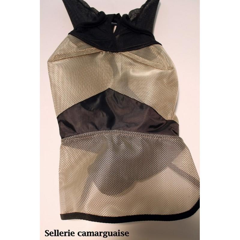 Bonnet, masque anti-mouches filet épais