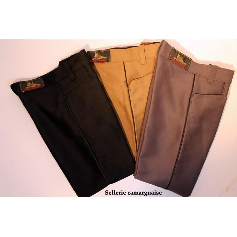 Pantalon de Gardian traditionnel enfant noisette